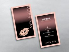Mary kay business cards pinterest mary kay cosmetics mary kay custom mary kay business card printing for mary kay independent beauty consultants design print colourmoves
