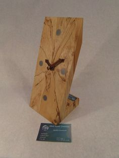 Spalted Sycamore Desk Top clock