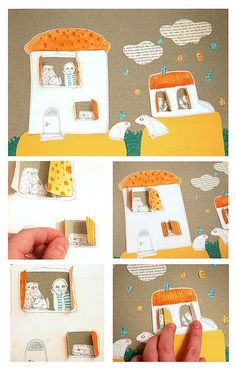 Love this paper art project! Great for kids.