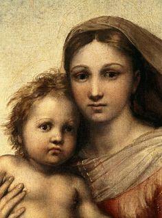 Pour la bien prier, il faut sentir sur soi ce regard qui n'est pas tout à fait celui de l'indulgence – car l'indulgence ne va pas sans quelque expérience amère – mais de la tendre compassion, de la surprise douloureuse, d'on ne sait quel sentiment, inexprimable, qui la fait plus jeune que le péché, plus jeune que la race dont elle est issue, et bien que Mère par la grâce, Mère des grâces, la cadette du genre humain.