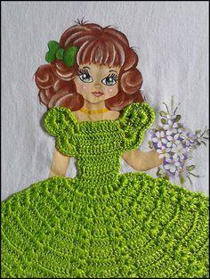 Simone Pinturas & Crochês Crochet Art, Thread Crochet, Cute Crochet, Crochet For Kids, Crochet Animals, Crochet Crafts, Crochet Dolls, Crochet Projects, Crochet Baby Dress Free Pattern