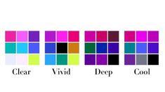 Paleta Deep Winter, Clear Winter, Winter Colors, Beauty Room, Season Colors, Bar Chart, Color Schemes, Palette, Men's Fashion