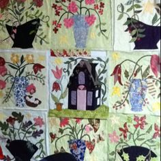 1000 images about barb adams quilter on pinterest for Tending the garden blackbird designs