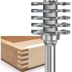 MLCS Woodworking Box Joint Router Bit