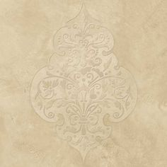 Turkish and Middle Eastern Flower Wall Art Stencil for Exotic Home Decor - Royal Design Studio
