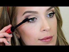 Classic Matte Eyeshadow Makeup Tutorial ♡ Retro Pretty - make_up_pintennium Matte Eye Makeup, Natural Eye Makeup, Eye Makeup Tips, Hair Makeup, Makeup Ideas, Smokey Eyeshadow, Matte Eyeshadow, Eyeshadow Looks, Eyeshadow Makeup