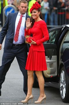 brit in red