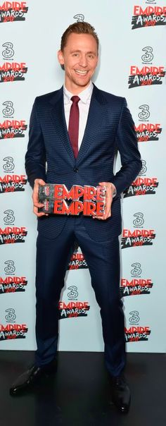 Tom Hiddleston and Felicity Jones Were Big Winners at the Empire Awards. Link: https://www.popsugar.co.uk/celebrity/Red-Carpet-Celebrities-Empire-Awards-2017-43328744