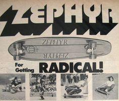 Zephyr skate ad