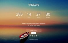 coming soon Free Responsive Web template