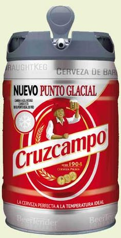 Buy Cruzcampo Draught Kegs - Spanish Beers Online