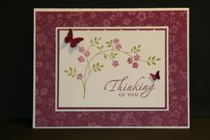stampin up thoughts and prayers card ideas | Thoughts and Prayers Are with You