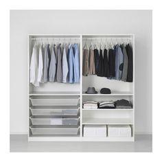 """PAX Wardrobe - 78 3/4x26x79 1/4 """" - IKEA"""