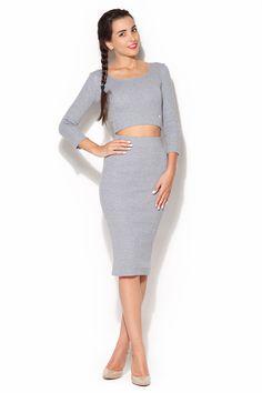 Double zestaw, klik w zdjęcie i przejdziesz do sklepu:) Mademoiselle, Royals, Casual, Skirts, Top Gris, Silhouette, Google, Fashion, Boutique Online Shopping