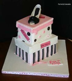 shoe birthday cakes - Google Search