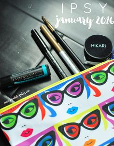 The Ipsy January 2016 All Eyes On You Glam Bag Is An Eye Makeup Lover's Dream Come True - Painted Ladies