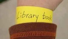 Make your student a reminder bracelet when you really want them to remember something.
