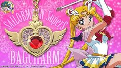 BANDAI  Sailor Moon bag charm TypeA SuperS SailorMoon Japan