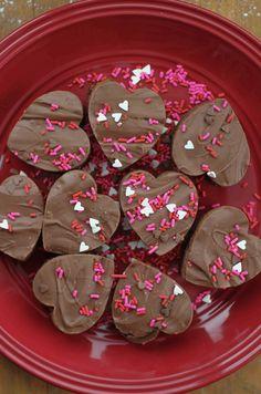 Valentine Milk Chocolatey Brownie Bites