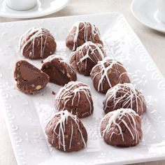 Fudge Bonbon Cookies Recipe from Taste of Home -- shared by Janice Smith of Cynthiana, Kentucky    http://pinterest.com/taste_of_home/