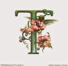 PAPIROLAS COLORIDAS: letras con picaflores o colibries.