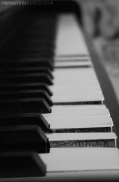 Idea: Place to leave a secret message - on the sides of piano keys when certain chords are played. Hmm....