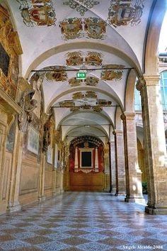 The University of Bologna, the Professors' Walk. Founded just under a thousand years ago in 1088.