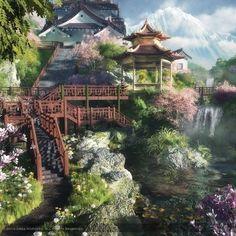 Amazing 3D landscapes