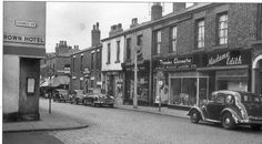 Chapel street, Chorley, Lancashire
