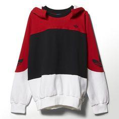 adidas Men's Nigo New York Blocker Hoodie - Red | adidas Canada