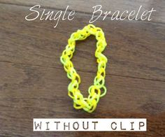 Single Bracelet (Without C Clip)