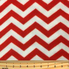 Shason Textile (2 Yards cut) POLAR FLEECE FABRIC 100% POLYESTER ANTI-PILL, New Home Decor Chevron, Available in Multiple Colors