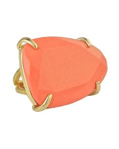 I've been looking for a cocktail ring this color...I need this!