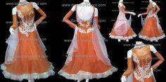 Modern dance dress model no. 1643