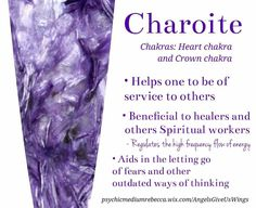 Charoite crystal meaning