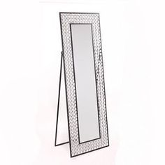 Bling Cheval Floor Mirror | Floor mirror, Cheval mirror and Room