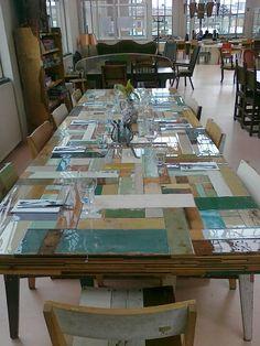 8ef4c8b65a11 Mooie tafel van Piet Hein Eek - The Netherlands Reclaimed Furniture, Wood  Furniture, Furniture