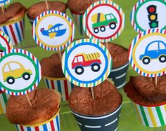 Cars birthday party goodie bags etsy 23 ideas for 2019 Birthday Party Goodie Bags, Cars Birthday Parties, Birthday Party Decorations, Baby Birthday, Transportation Birthday, Cupcake Toppers, Diy Cupcake, Party Printables, Ideas Party