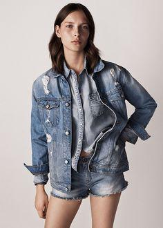 #Denim Jacket – A intemporal tendência dos casacos de ganga. #Mango