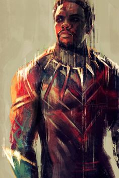 Black panther art,so amazing. #blackpanther #marvel #cosplayclass