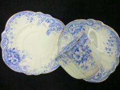 Victorian tea trio - square shaped