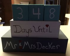 Days until married! Projects, Home Decor, Log Projects, Blue Prints, Decoration Home, Room Decor, Home Interior Design, Home Decoration, Interior Design