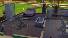 One of the first times I playes Sims 4. Crazy Sim, don't know how he got the job done, but he did it this way. Need to learn this as well, cleaning he house was never this easy!  Want to play with these Sims and there beautiful children? Look for Phantomlover1717 in the gallery and find 'Scholten'