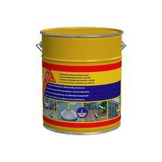Sikalastic®-490T - Sikalastic®-490T: es una membrana líquida impermeable a base de poliuretano transparente monocomponente. Material World, Canning, Construction Materials, Home Canning, Conservation