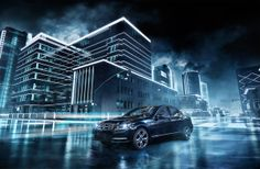 Mercedes-Benz  CGI Render by Sergiy Dvornytskyy, via Behance