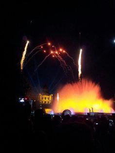 Closure of the Festival of La Mercè in Barcelona - september 2012