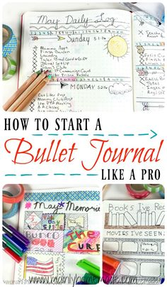 How to start a bullet journal like a pro. Tips to set up monthly spreads, weekly spreads, things to track and free Printables. How to design a life planner for you. Create a time management system that works for you.