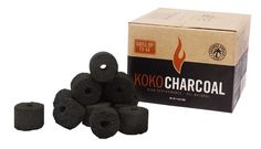 GrillJunkie Product Review of Afire KOKO Coconut Charcoal - GrillJunkie #Grilling Product Review  http://grilljunkieguy.com/grilling-product-reviews-coconut-charcoal/
