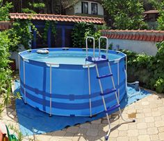 Above Ground Pool Pumps, Best Above Ground Pool, Above Ground Swimming Pools, Swimming Pools Backyard, Pool Landscaping, In Ground Pools, Pac Piscine, Piscine Coque Polyester, Lattice Deck