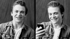 Hunter Hayes Answers Your Outrageous Twitter Questions. He is so frickin adorable. It causes me pain.